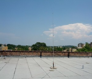 New Amateur Radio Antenna for HacDC's Amateur Radio Club (HARC)
